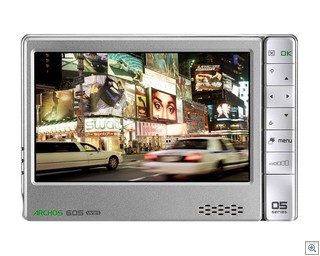 ARCHOS 605 WiFi front